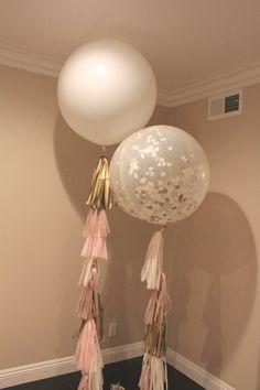 Borla de balón / / Blush champán / / color de rosa marfil