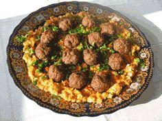 Kefteji au boulette( cuisine tunisienne)