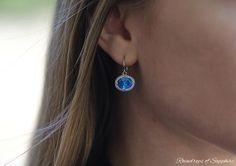 80e11c2ef Raindrops of Sapphire #Azendi #Blue #Carousel #Earrings #FBlogger Uk  Fashion,