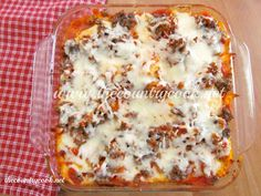 Baked Ravioli - easily could be made vegetarian. Read comments for lots of ideas to change it up.
