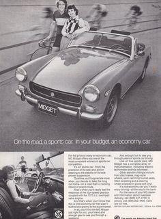 010 Vintage Advertising Transport Art  MG TF