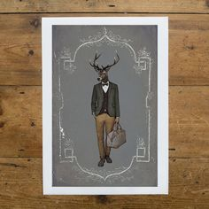 Julian - Limited Edition Print - East End Prints - 30 GBP