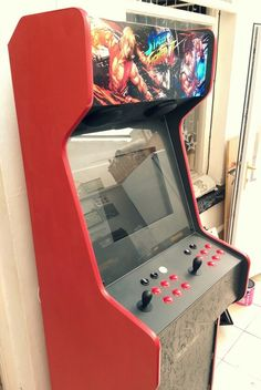 Completely finished! #customarcademachines #custommachinemk4 #arcademachine #retrogaming #retrogames