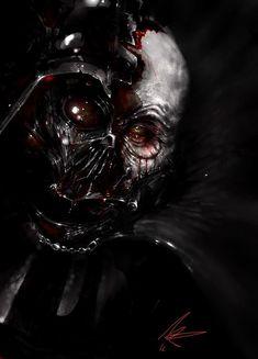 Anakin Skywalker Discover RedSkulls Page Vader by MJ. Anakin Vader, Anakin Skywalker, Darth Vader, Star Wars Pictures, Star Wars Images, Skull Pictures, Star Wars Sith, Clone Wars, Star Wars Tattoo