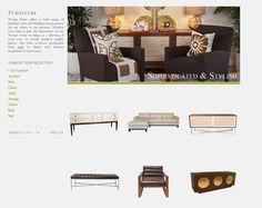 The Furniture was made to look like it was floating on the page. Hovering over each item with your mouse brings up a little surprise! Web Design Examples, Ecommerce Web Design, Bring Up, Storage, Inspiration, Furniture, Home Decor, Purse Storage, Biblical Inspiration