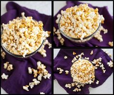 Coconut Curry Popcorn - Naturally Ella