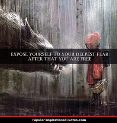 facing fears quotes set yourself free