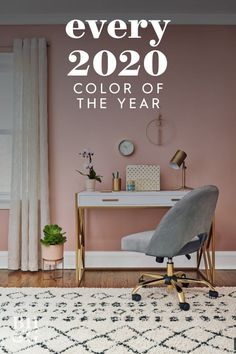 See which colors the experts say are going to welcome us into 2020—we'll keep a running tab of the colors of the year as they're announced. #coloroftheyear #colortrends #paintcolor #painttrendsfor2020 #dreamhome #bhg New Paint Colors, Paint Color Palettes, Color Of The Year, Color Trends, Color Inspiration, Decor Styles, Color Pop, Master Bedroom, Diy Ideas