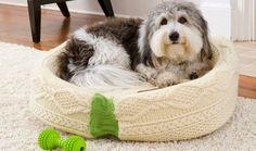 Cama para gatos y perros reciclando ropa : cositasconmesh
