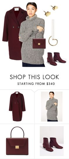 """Minimal Monday confidence outfit"" by nura-minimal-design ❤ liked on Polyvore featuring Harris Wharf London, Paul Smith, Victoria Beckham, modern, contemporary, Winter, minimal and modernwoman"