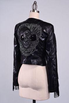 veste cuir cuir suède manteau cuir veste blazer par Paulafashion, $78.00