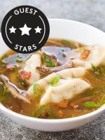 Asian-Style Dumpling Soup To Keep You Warm This Winter #refinery29