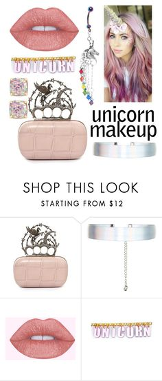 """""""Untitled #164"""" by sara-globevnik ❤ liked on Polyvore featuring beauty, Alexander McQueen, Accessorize, Trixy Starr and Kate Spade"""