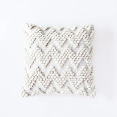 LA OLA PILLOW | Handwoven in Mexico Design Studio, Home Goods, Hand Weaving, Artisan, Throw Pillows, Beige, Collection, Kitchen Cabinets, Hand Sewn