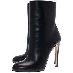 Gucci Black Leather Ankle Boots Size 39 ❤ liked on Polyvore featuring shoes, boots, bootie boots, black ankle bootie, leather ankle bootie, black leather shoes and ankle bootie boots
