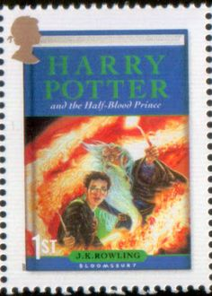 Literary Stamps: Rowling, J.K. (b. 1965) [Harry Potter and the Half-Blood Prince]