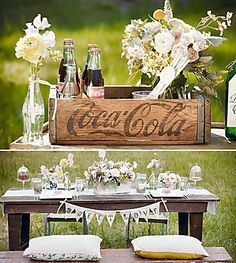 Maybe with classic dr. Pepper ;) I love it! So cute, and I like better than champagne for sure
