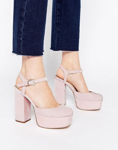 ASOS - PROFILE - Chaussures hautes style 70's