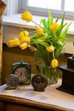 Cuadro Yellow Tulips I