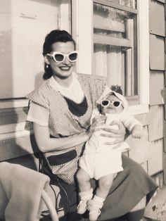 hip mom, hip baby by Robert Barone, via Flickr..april 1953 in morris park,ny..awesome pic!