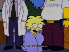 Lisa Simpson does her Jim Morrison. I LOVE this Duff Gardens episode it's in my top ten for sure.