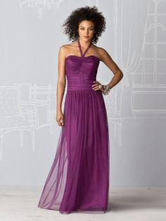A-line, Purple ,dress