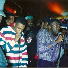 Jay-Z and Big Daddy Kane, somewhere in the 80s.