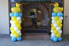 Rubber Ducks Baby Shower Party Ideas | Photo 4 of 37 | Catch My Party
