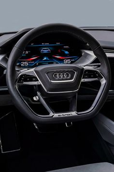 fullthrottleauto: Audi E-tron Quattro Concept '09.2015 (#FTA)   Looks like my dash Q7 2017....love it and the other gadgets ... I went way overboard on gadgets and upgrades -C
