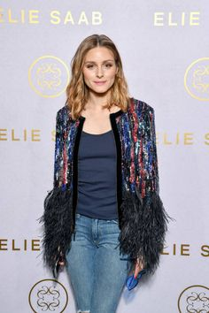 Olivia Palermo attends the Elie Saab Haute Couture Fall/Winter 20172018 show as part of Haute Couture Paris Fashion Week on July 5 2017 in Paris...