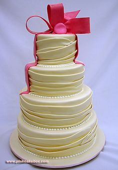 Wedding Dress Cake by Pink Cake Box