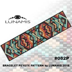 PDF FORMAT / PATTERN ONLY. Create this beautiful peyote cuff bracelet.  Bracelet peyote patterns made with size 11/0 Miyuki Delica seed beads Width: 1.54 (29 columns) Length: 6.3 Colors: 7  Patterns include: - Large colored numbered graph paper (and non-numbered in another files) - Bead legend (numbers and names of delica beads colors ) - Word chart - Pattern preview  This pattern is intended for users that have experience with odd count peyote and the pattern itself does NOT includ...