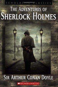 Free E Novel: The Adventures Of Sherlock Holmes By Sir Arthur Conan Doyle - Literature - Nigeria Detective Sherlock Holmes, Sherlock Holmes Stories, Adventures Of Sherlock Holmes, Sir Arthur, Arthur Conan Doyle, Best Crime Novels, Popular Books, Classic Books, Book Lists