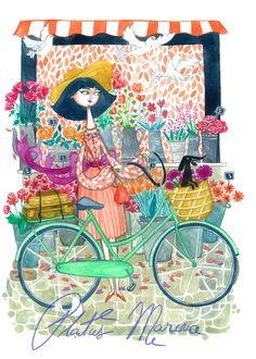 A fine art print entitled Vintage by Marina Plantus!