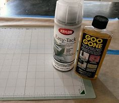 Reinvigorate your mat! Clean with Goo Gone, tape the edges, and use a spray adhesive.