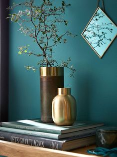 Peinture Verdo Farrow and Ball inspiration Cyrillus Maison nouvelle collection Living Room Designs, Living Room Decor, Teal Living Rooms, Teal Bedroom Decor, Teal Rooms, Living Room Colors, Living Spaces, Interior Paint, Interior Design