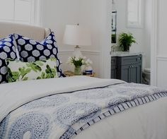 Eye For Design: Decorating With The Blue/Green Color Combination