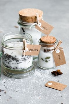 How To Make Infused Sugars: Chai, Vanilla + Lavender