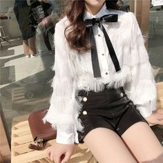 Korean Fashion Trends you can Steal – Designer Fashion Tips - Her Crochet Kpop Fashion Outfits, Ulzzang Fashion, Stage Outfits, Girly Outfits, Korean Outfits, Trendy Outfits, Fashion Dresses, Cute Outfits, Fashion Suits