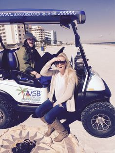 Another fun day of clients family on Golf Cart. #sellingthelifesytle #nsbhomes #livingthelifestyle