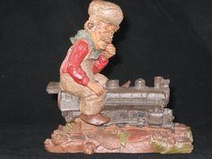 "Vintage Thomas Clark ""Chief"" Figurine 1986 by iLikeEclectic on Etsy"