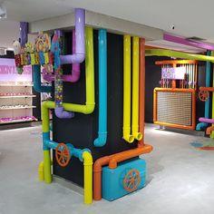 "DI SANTINNI, Rio de Janeiro, Brazil, ""Kids Store Project"", photo by Camila Salek, (creative by Vimer VM), pinned by Ton van der Veer"