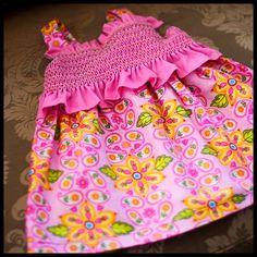 Handmade+Smocked+American+Style+Baby+Dress+01.jpg (1030×1030)