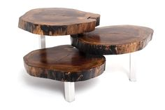 Alice Coffee Table. Example of layered tables - although I would suggest only two levels.