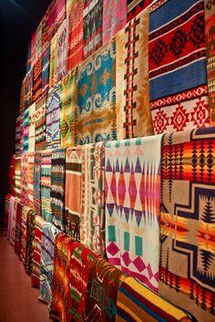 Tribal Pattern Blankets