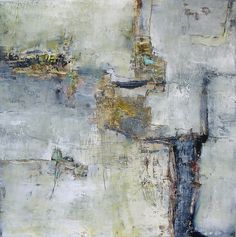 Jeane Myers | A Single Thought | oil and cold wax on panel, 24x24 /smwww.jeanemyers.com