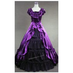 Old Style Masquerade Dresses 74