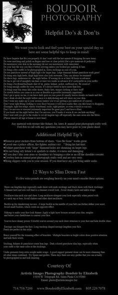 """Boudoir Photography's Top Ten Tips. Also A Do's & Don'ts List by The Boudoir Experts Since 1997-Artistic Images Photography-Boudoir by Elizabeth. The original """"Victoria's Secret Super Model"""" style boudoir photographers!"""