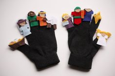 Nativity Finger Puppets - delia creates