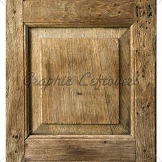 Old Wood Bevel Door Panel